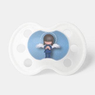 Anjo-da-guarda do miúdo chupeta de bebê