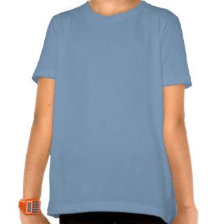 Anjo-da-guarda e menina camisetas