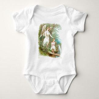 Anjo-da-guarda e menina t-shirt