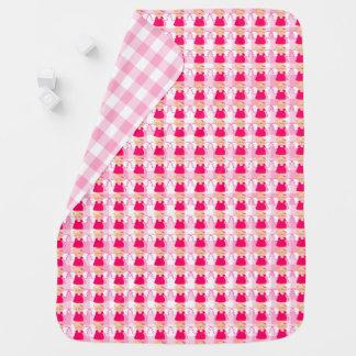 Anjo-da-guarda femininos cobertorzinhos para bebe