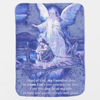 Anjo-da-guarda, ponte das crianças cobertores de bebe