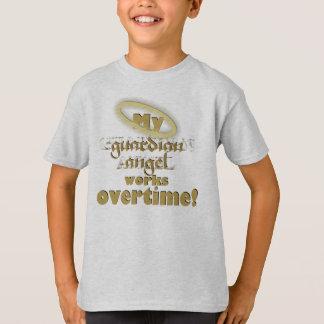 Anjo-da-guarda - t-shirt básico camiseta