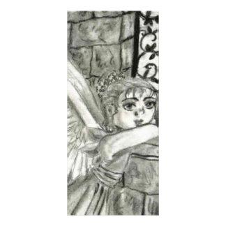Anjo da igreja panfleto informativo personalizado