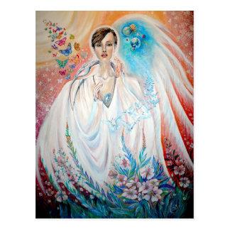 Anjo da luz cartão postal