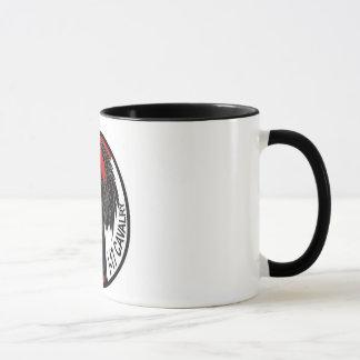 Anjo da obscuridade da caneca de café