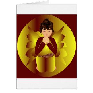 Anjo da paz do Natal Cartões