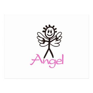Anjo da vara cartão postal