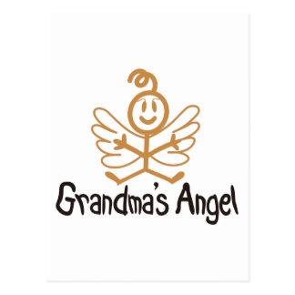 Anjo das avós cartão postal