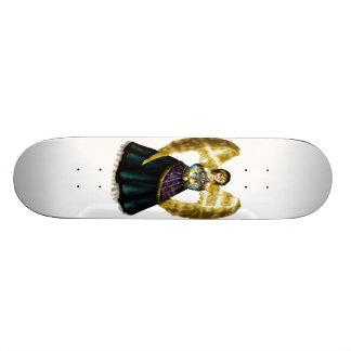 Anjo de Menorah Shape De Skate 20cm