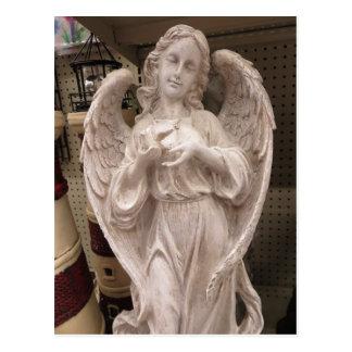 Anjo decorativo cartão postal