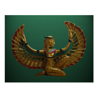 Anjo do cartão de Egipto