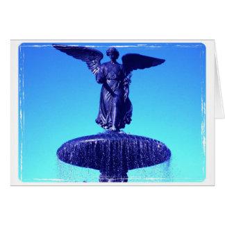 Anjo do cartão de simpatia de Bethesda