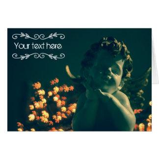 Anjo do cartão do Xmas