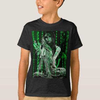 Anjo do Cyber Camiseta