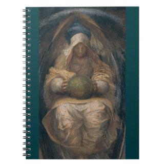 Anjo do espírito Pervading Caderno Espiral