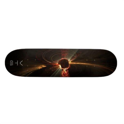 Anjo do Fractal Skates