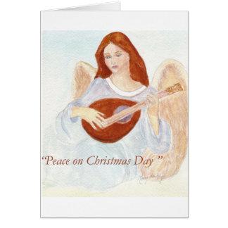 Anjo do Natal Cartão