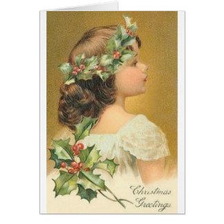 Anjo do Natal Cartão Comemorativo