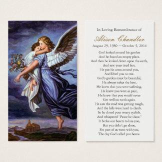 Anjo do senhor Funeral Simpatia Oração Cartão