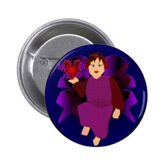Anjo dos corações botons