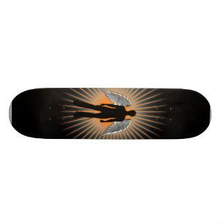 Anjo escuro shape de skate 18,7cm