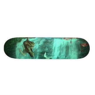 """Anjo esquecido - 73/4"""" o conselho com design impre skate"""