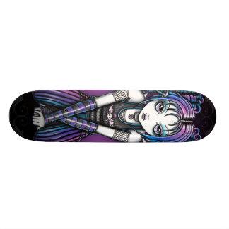 Anjo Eyed grande gótico de Ariel Emo Skates Personalizados