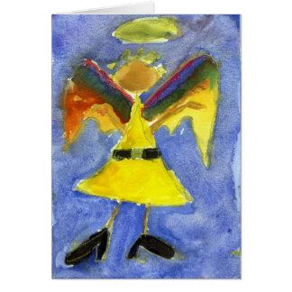 Anjo Funky Cartão Comemorativo