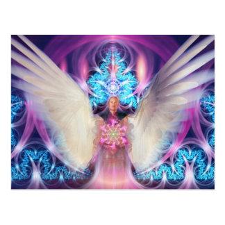 Anjo Loving bonito Cartão Postal