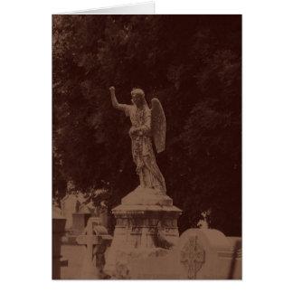 Anjo no Sepia Cartão Comemorativo