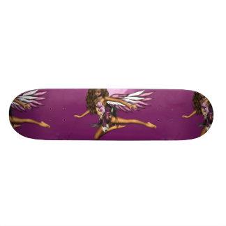 Anjo no skate do luar
