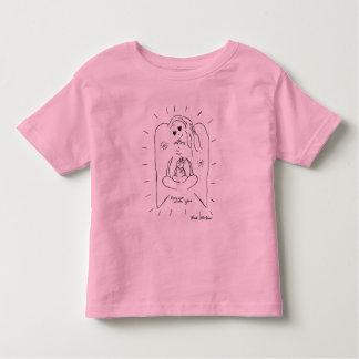 """Anjo """"para sempre com você"""" a camisa do miúdo camisetas"""