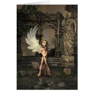 Anjo pequeno, cartão