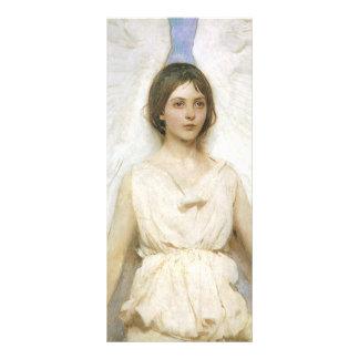 Anjo por Abbott Thayer, belas artes do Victorian 10.16 X 22.86cm Panfleto