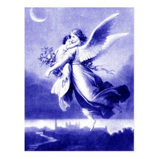Anjo que guardara a criança cartão postal