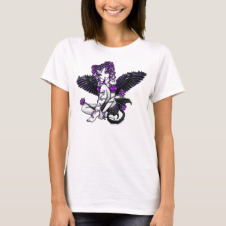 """Anjo roxo de """"Alexis"""" Camiseta"""