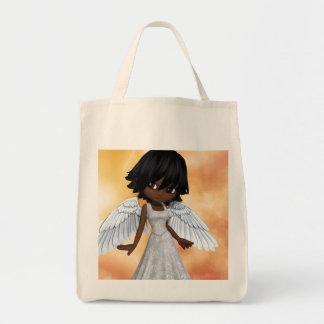 Anjos 2 de Lil Sacola Tote De Mercado