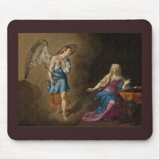 Anjos c1515 da natividade e da criança mousepad