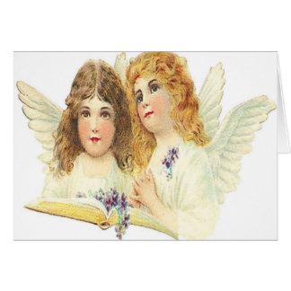 Anjos Cartão Comemorativo