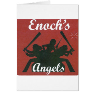 Anjos de E Cartão Comemorativo