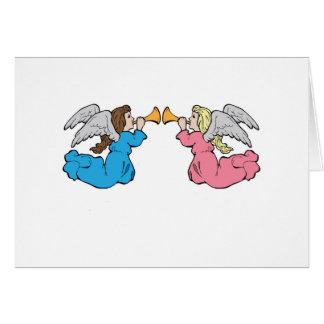 Anjos do arauto cartão