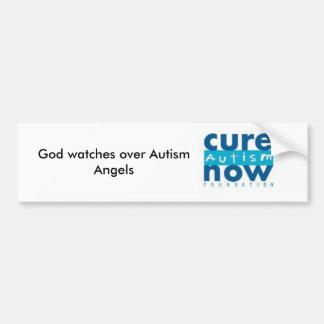 Anjos do autismo adesivo para carro