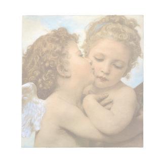 Anjos do Victorian do vintage, primeiro beijo por Caderno