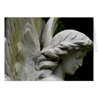 Anjos entre nós cartão de nota