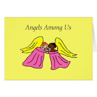 Anjos entre nós - cartões de natal… - Personalizad