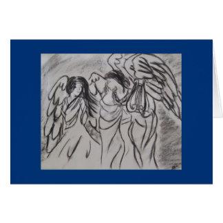 Anjos Notecard Cartão De Nota