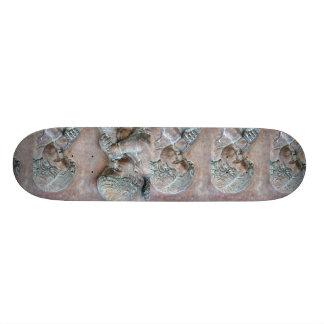 Anjos que fundem o alivio envelhecido cobre das tr shape de skate 20,6cm