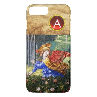 Anjos que recolhem flores em uma paisagem capa iPhone 7 plus
