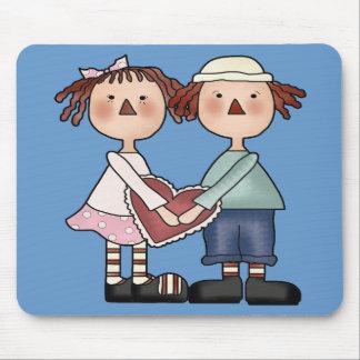 Ann e Andy Raggedy Mousepad