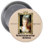 Ann Romney como Marie Antoinette Botons